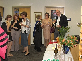 Attendees during the 2014 Graduation Reception