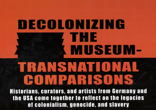Poster for Decolonizing the Museum