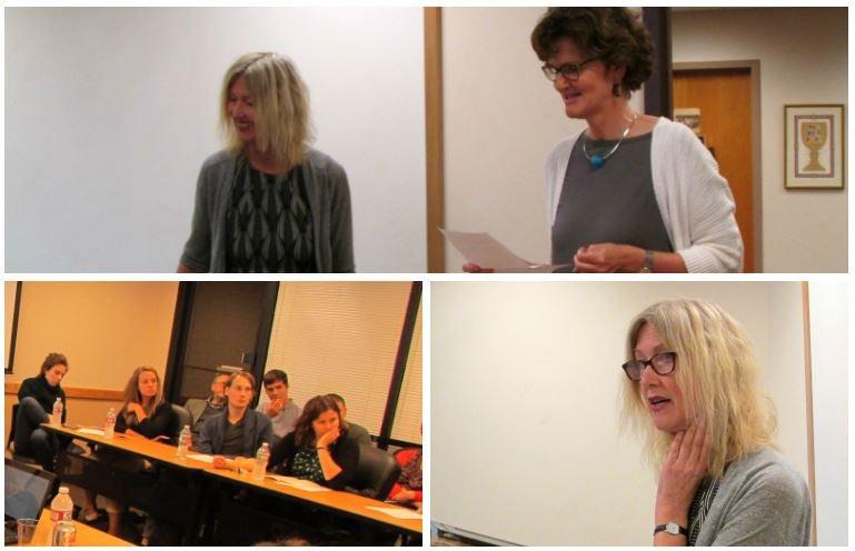 Dr. Doris Bachmann-Medick and lecture participants