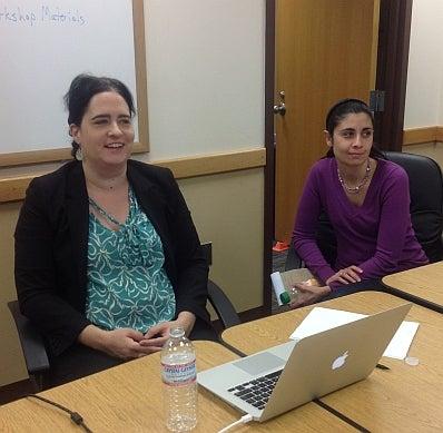 Professor Mary Helen Dupree and Professor Marianna Ryshina-Pankova