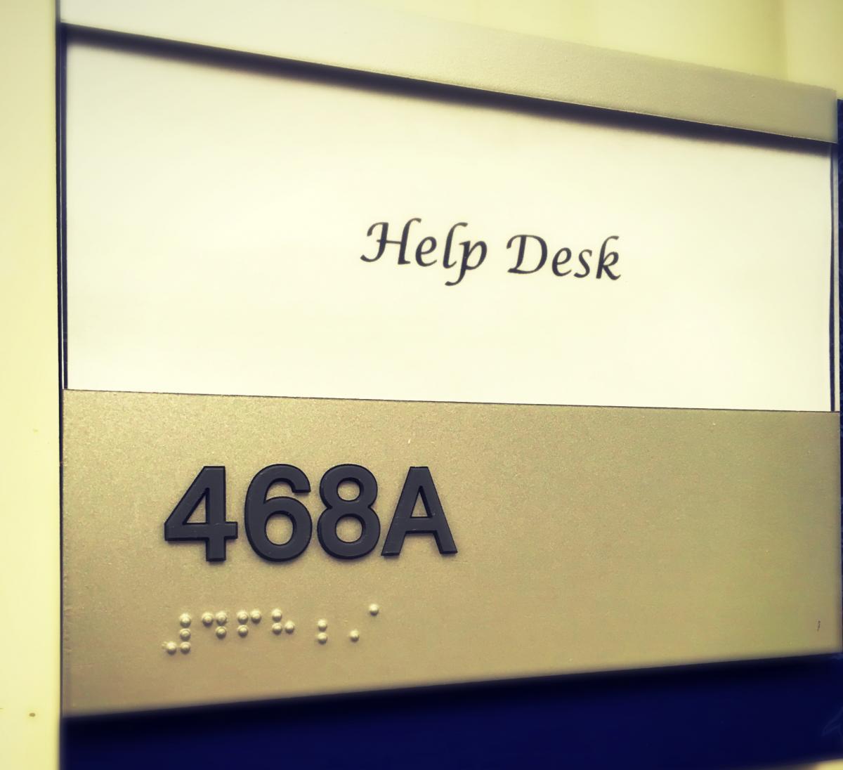 Help Desk 468A