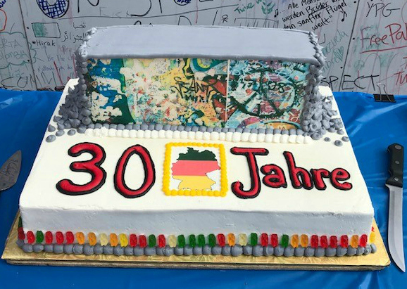 Replica Berlin Wall Cake