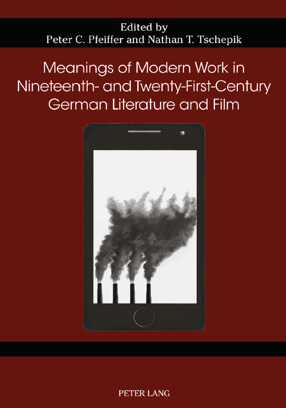 Book cover of Meanings of Modern Work
